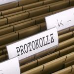 Satzung und Protokolle