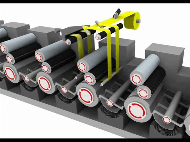 Inlineverdelung mit Kaltfolie an einer KBA-Druckmaschine