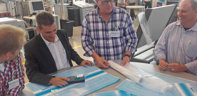 Bericht: Praxisseminar Offset- und Digitaldruck bei HEIDELBERG