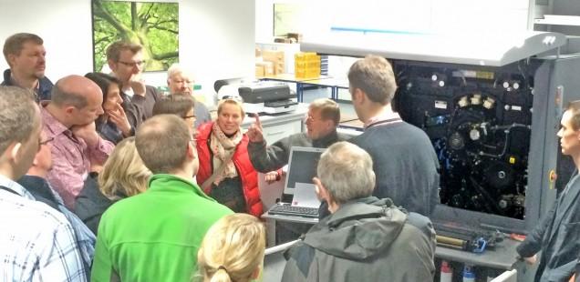 Bericht: Digitaldruck-Workshop vom 26. bis 28. Februar 2015