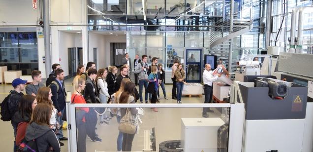 Campus Tag bei Heidelberg am 11.4.2018