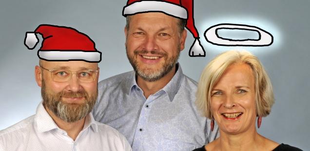 Fröhliche Weihnachten und ein gutes neues Jahr 2020!